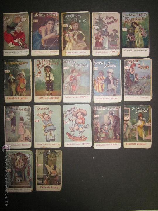 Libros antiguos: LOTE 37 CUENTOS - ALGUNOS PUBLICIDAD CAFE DEBRAY - (V-1691) - Foto 4 - 47108814