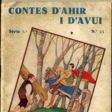 Libros antiguos: ANDERSEN : BELLA BELLA (CONTES D'AHIR I D'AVUI, 1935) ILUSTRA SÁNCHEZ TENA . CATALÁN. Lote 47239265