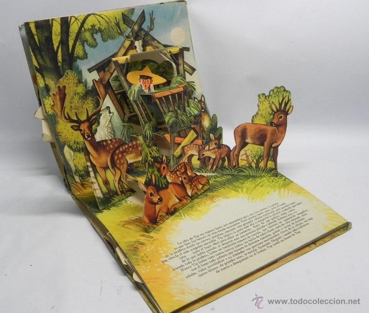 Antiguo cuento pop up o cuento juguete con di comprar - Como hacer un libro antiguo ...