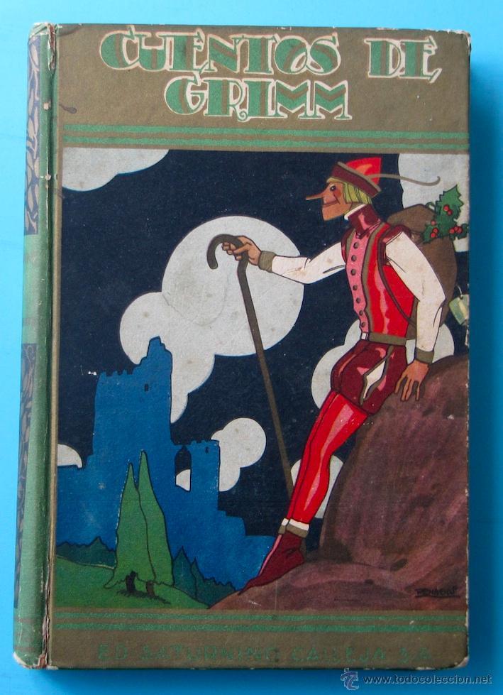 CUENTOS DE GRIMM. BIBLIOTECA PERLA. PENAGOS. CALLEJA, 1935 (Libros Antiguos, Raros y Curiosos - Literatura Infantil y Juvenil - Cuentos)