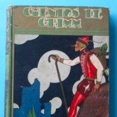 Libros antiguos: CUENTOS DE GRIMM. BIBLIOTECA PERLA. PENAGOS. CALLEJA, 1935. Lote 47489269