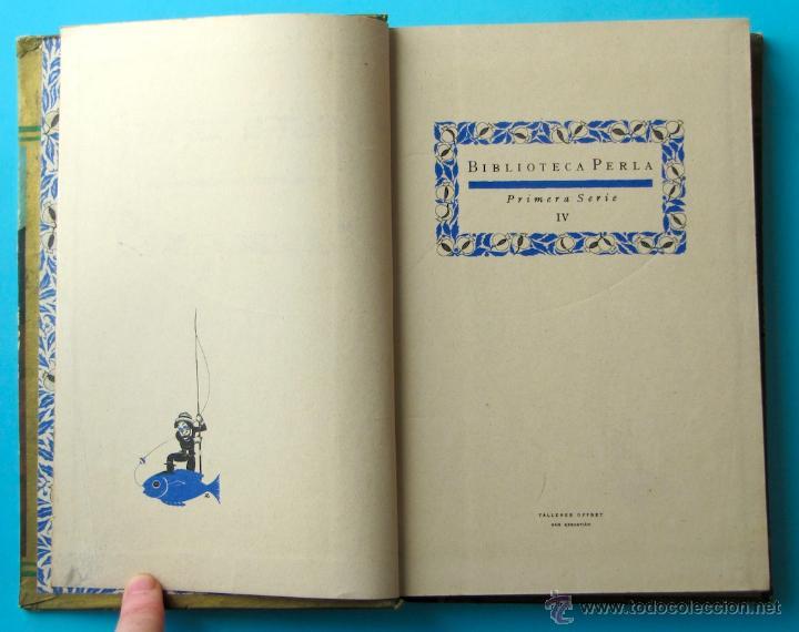 Libros antiguos: CUENTOS DE GRIMM. BIBLIOTECA PERLA. PENAGOS. CALLEJA, 1935 - Foto 5 - 47489269
