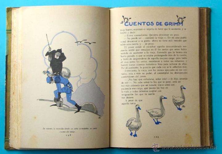 Libros antiguos: CUENTOS DE GRIMM. BIBLIOTECA PERLA. PENAGOS. CALLEJA, 1935 - Foto 8 - 47489269