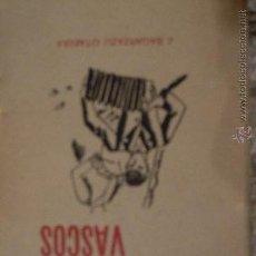 Libros antiguos: CUENTOS VASCOS; J. SAGARZAZU OTAEGUI; SAN SEBASTIAN 1929; PAIS VASCO. Lote 34533055