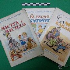 Libros antiguos: 3 CUENTOS ILUSTRADOS PARA NIÑOS, EDITORIAL RAMON SOPENA.. Lote 47540260