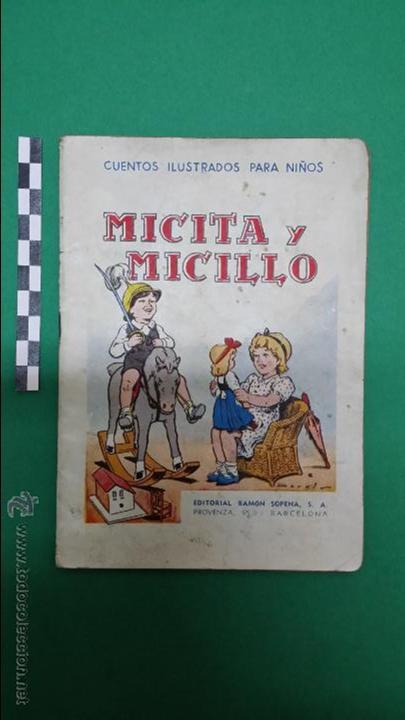 Libros antiguos: 3 cuentos ilustrados para niños, editorial Ramon Sopena. - Foto 2 - 47540260