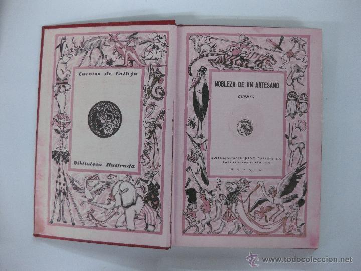 Libros antiguos: NOBLEZA DE UN ARTESANO. CUENTO. BIBLIOTECA ILUSTRADA TOMO XIX. ED. SATURNINO CALLEJA - Foto 2 - 96865507