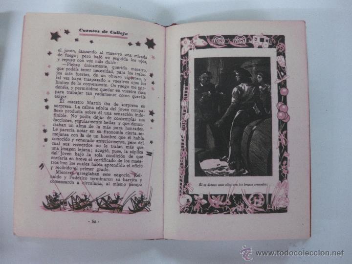Libros antiguos: NOBLEZA DE UN ARTESANO. CUENTO. BIBLIOTECA ILUSTRADA TOMO XIX. ED. SATURNINO CALLEJA - Foto 3 - 96865507