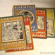 Libros antiguos: CUENTOS INFANTILES SERIE OSVERNIA, 0,70 PTS. SAN SEBASTIÁN Nº 1, 2, 3, 5 Y 7. Lote 47620770