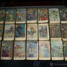 Libros antiguos: LOTE DE 21 CUENTECITOS DE GASSO HERMANOS DE BARCELONA, CUENTOS INFANTILES, 8 X 5 CM.. Lote 47889422