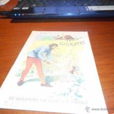 Libros antiguos: CUENTO CALLEJA VIAJE DE GULIVER AL PAIS DE LOS GIGANTES. Lote 48115338