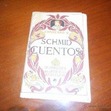 Libros antiguos: CUENTOS SCHMID CUADERNO 5. Lote 48119118