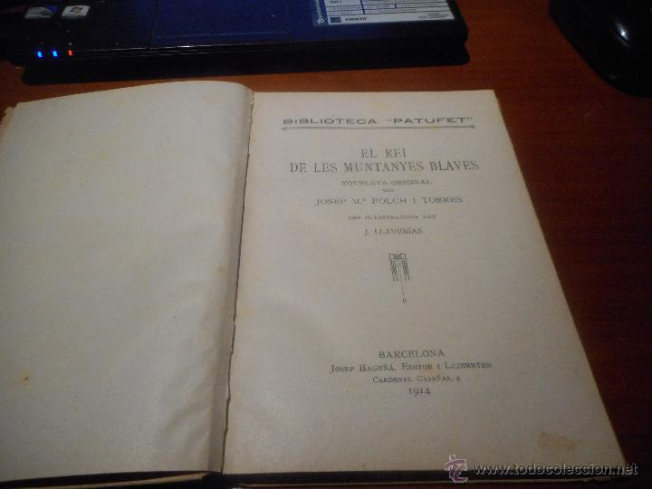 Libros antiguos: biblioteca patufet volum 21 1914 - Foto 2 - 48208350