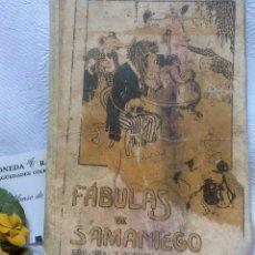 Libros antiguos: PPOS. DEL XX.- FÀBULAS DE SAMANIEGO.- EDITORIAL SATURNINO CALLEJA, MADRID.. Lote 48269562