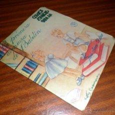 Libros antiguos: LA PRIMERA AVENTURA DE BABELÍN. CUENTOS ESPAÑOLES PARA MI. JOSÉ SANZ RUBIO. . Lote 48353812