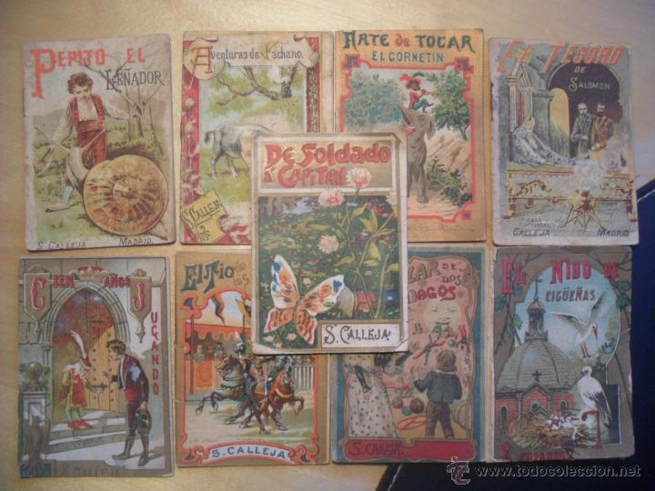 Libros antiguos: 11 CUENTOS DE SATURNINO CALLEJA. MINICUENTOS (1900). SE VENDEN TODOS O POR UNIDADES - Foto 2 - 48712918