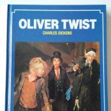 Libros antiguos: OLIVER TWIST, POR CHARLES DICKENS - ED. BRUGUERA - Nº 12 - 1ª EDICION - 1983. Lote 48815725