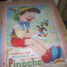 Libros antiguos: CUENTO DE PINOCHO AÑO 1950. Lote 48822937