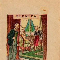 Libros antiguos: ELENITA, CUENTO INFANTIL. Lote 49089274