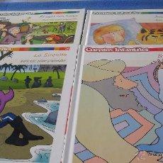 Libros antiguos: PACK 4 CUENTOS INFANTILES PARA LEER, JUGAR Y APRENDER EL PAIS. Lote 49247117