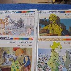 Libros antiguos: PACK 4 CUENTOS INFANTILES PARA LEER, JUGAR Y APRENDER EL PAIS. Lote 49247175