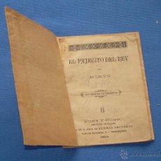 Libros antiguos: CUENTO EDITADO EN 1894 - EL PAJECITO DEL REY POR MIRTO. Lote 49399327
