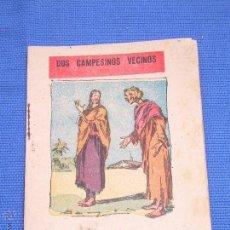 Libros antiguos: ANTIGUO CUENTO DOS CAMPESINOS VECINOS. Lote 49401290