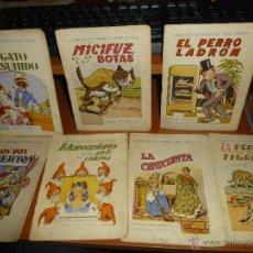 Libros antiguos: LOTE DE 7 CUENTOS ILUSTRADOS PARA NIÑOS, EDITORIAL RAMON SOPENA. Lote 49565793