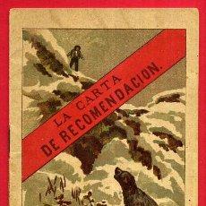 Libri antichi: CUENTO , LA CARTA DE RECOMENDACION , HIJOS S. RODRIGUEZ , BURGOS , ORIGINAL. Lote 49842017