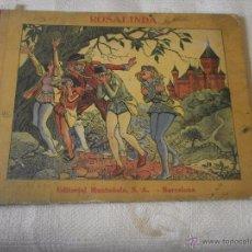 Libros antiguos: ROSALINDA - EDITORIAL MUNTAÑOLA BARCELONA COLECCION AMIC CUENTOS POPULARES ILUSTRADOS J.GAY - OPISSO. Lote 49862007