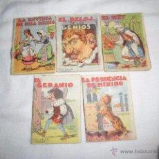 Libros antiguos: CALLEJA 5 CUENTOS JUGUETES INSTRUCTIVOS TOMO 197-103-190-134-4. Lote 49894005