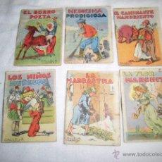 Libros antiguos: CALLEJA 6 CUENTOS JUGUETES INSTRUCTIVOS TOMOS 6-181-138-17-11-127. Lote 49894337