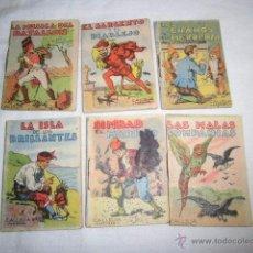 Libros antiguos: CALLEJA 6 CUENTOS JUGUETES INSTRUCTIVOS TOMOS 125-15-192-107-279. Lote 49894834