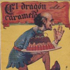 Libros antiguos: CUENTO COLECCION CUENTOS INFANTILES CISNE EL DRAGON DE CARAMELO . Lote 49895394