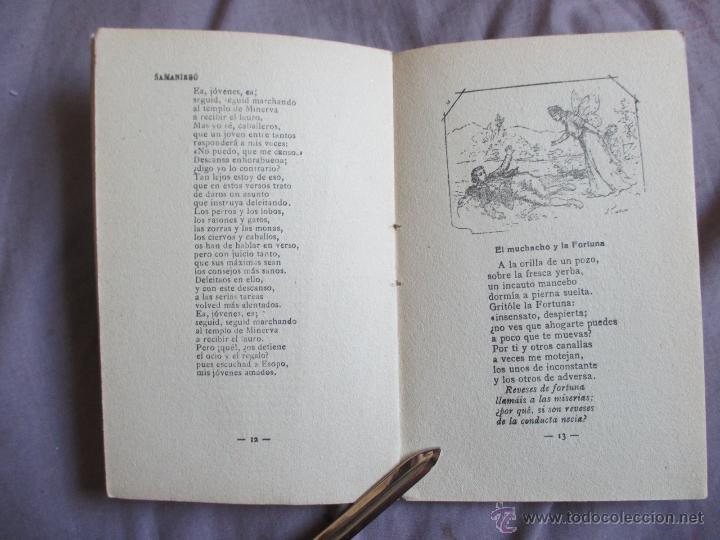 Libros antiguos: Samaniego, sus mejores fábulas - Los poetas - Edita Gráfica Unión, 1929 - Foto 3 - 49768067