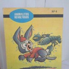 Libros antiguos: COLECCION ANIMALITOS REVOLTOSOS Nº 4 - OREJITAS, EL CONEJITO GLOTÓN - EDICIONES BOGA 1972. Lote 50122576