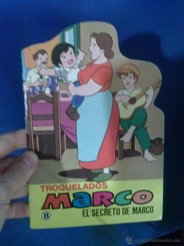 LIBRO TROQUELADO MARCO N 8 EL SECRETO DE MARCO (Libros Antiguos, Raros y Curiosos - Literatura Infantil y Juvenil - Cuentos)