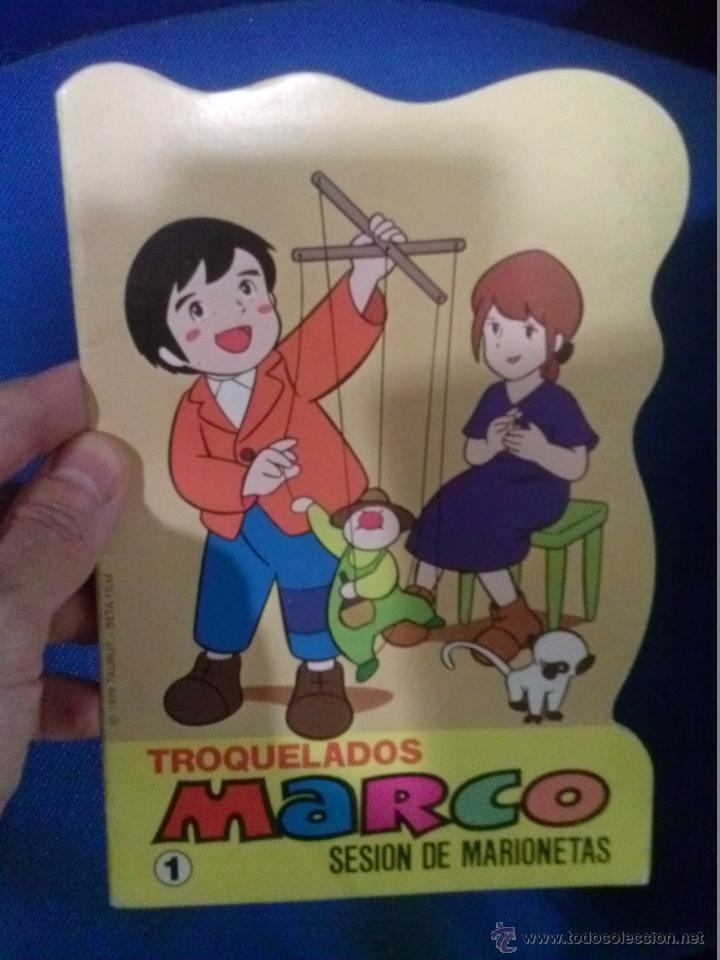 LIBRO TROQUELADO MARCO N 1 SESION DE MARIONETAS (Libros Antiguos, Raros y Curiosos - Literatura Infantil y Juvenil - Cuentos)