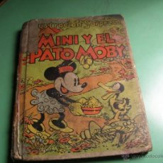 Libros antiguos: CUENTO POP-UP MINI Y EL PATO MOBY. Lote 50428350