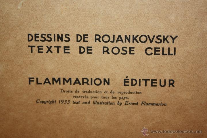 Libros antiguos: Albums du Père Castor. Les petits et Les grands. Editeur Flammarion. año 1933 - Foto 6 - 50436062