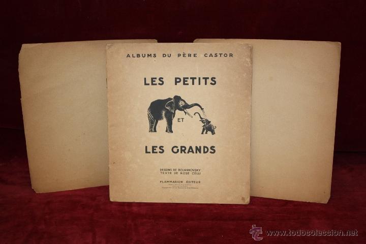 Libros antiguos: Albums du Père Castor. Les petits et Les grands. Editeur Flammarion. año 1933 - Foto 7 - 50436062
