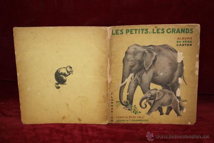 Libros antiguos: Albums du Père Castor. Les petits et Les grands. Editeur Flammarion. año 1933 - Foto 8 - 50436062