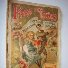 Libros antiguos: ANTIGUO LIBRO CUENTO PARA LOS NIÑOS, 1906 EL FAJO DE BILLETES HISTORIA DE UN ELEFANTE, LASSO Y MORAL. Lote 50534257
