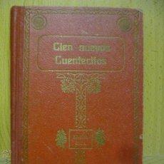 Libros antiguos: CIEN NUEVOS CUENTECITOS. SCHMID, CRISTÓBAL. . MP-LIB DE MONTSERRAT, DE HEREDEROS DE J. ROCA . Lote 50581236