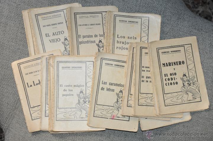 CUENTOS MODERNOS GRAN LOTE DE 43 UNIDADES (Libros Antiguos, Raros y Curiosos - Literatura Infantil y Juvenil - Cuentos)