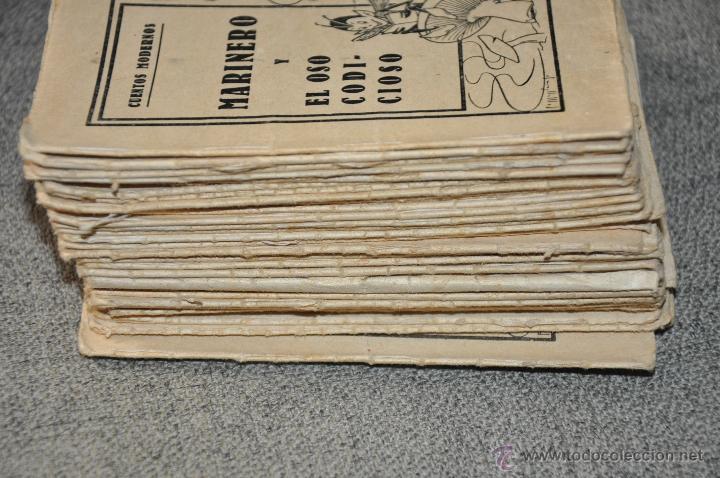 Libros antiguos: CUENTOS MODERNOS GRAN LOTE DE 43 UNIDADES - Foto 2 - 50646741