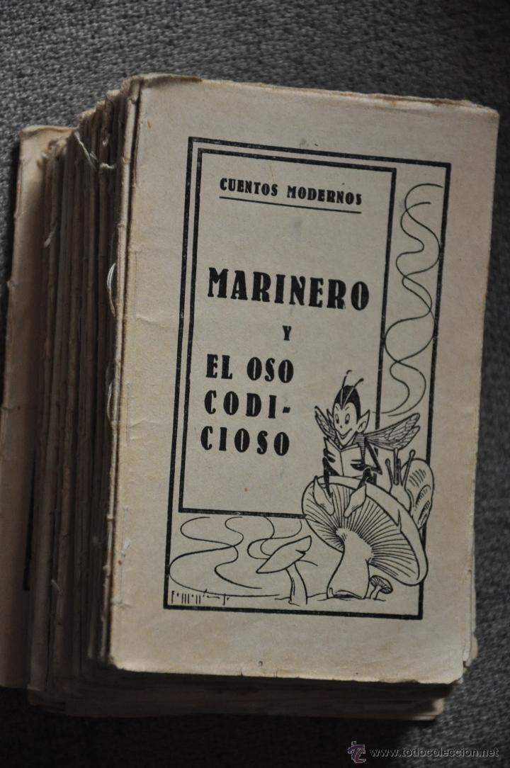 Libros antiguos: CUENTOS MODERNOS GRAN LOTE DE 43 UNIDADES - Foto 3 - 50646741