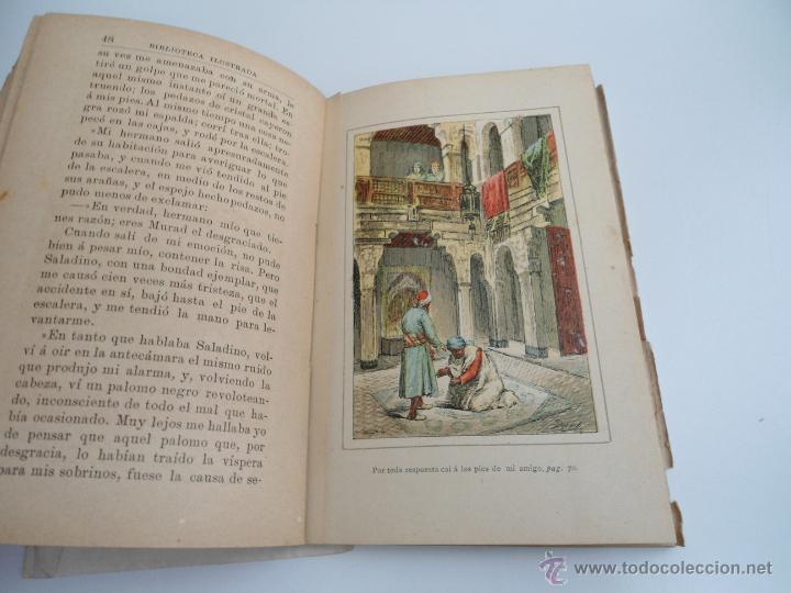 Libros antiguos: CUENTOS ARABES - MARY EDGERWORTH - SOAVE - BIBLIOTECA RECREATIVA ILUSTRADA - Ed. B. BAUZA - Foto 3 - 50661952