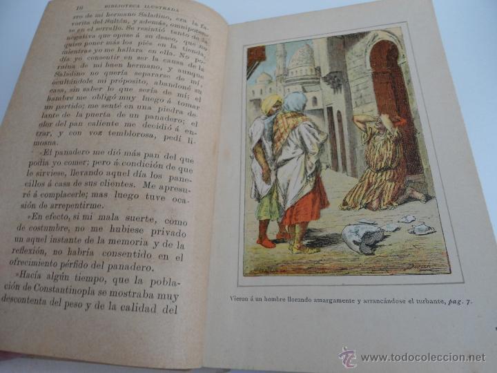 Libros antiguos: CUENTOS ARABES - MARY EDGERWORTH - SOAVE - BIBLIOTECA RECREATIVA ILUSTRADA - Ed. B. BAUZA - Foto 4 - 50661952