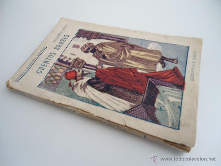 Libros antiguos: CUENTOS ARABES - MARY EDGERWORTH - SOAVE - BIBLIOTECA RECREATIVA ILUSTRADA - Ed. B. BAUZA - Foto 5 - 50661952